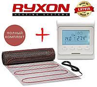 Теплый пол Ryxon HM-200/ 7,0 м² нагревательный мат с программируемым терморегулятором E51