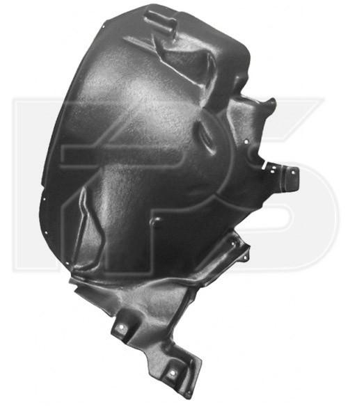 Подкрылок передний (задняя часть) левый Audi A8 '02-10 (FPS) 4E0821191E