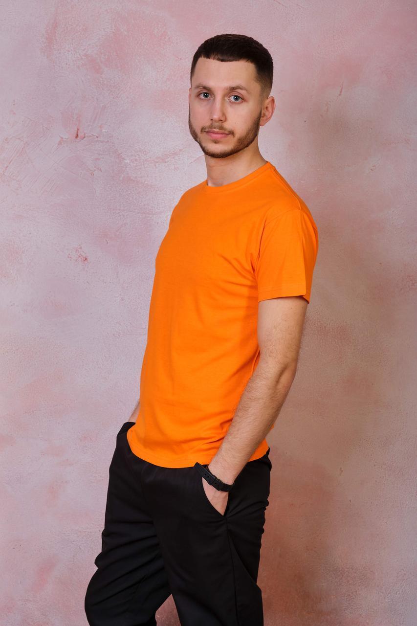 Мужская футболка JHK OCEAN T-SHIRT цвет оранжевый (OR)