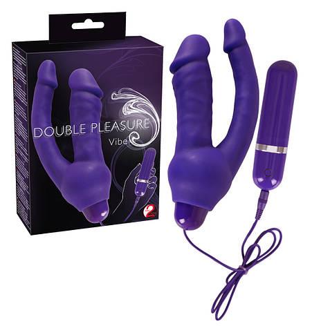Hi-tech вибратор - Douple Vibrator Purple, фото 2