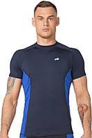 Спортивная футболка Radical Fury Duo компрессионная темно-синяя, фото 1