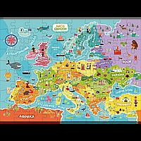 """Пазл DoDo """"Карта Европы"""" украинская версия 300129, фото 1"""