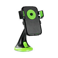 Автодержатель для телефона Optima RM-C36 Black/Green (00000059088)