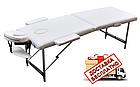 Массажный стол  ZENET  ZET-1044 размер L ( 195*70*61) Крем, фото 3