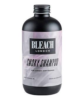 Оттеночный шампунь Bleach London Smoky Shampoo Серый