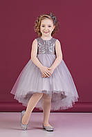 Zironka Платье серебристое для девочки Z2-38-9022-3