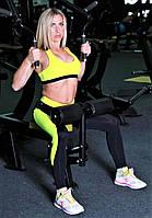 Топ спортивный Totalfit T11-С1 желтый, фото 1