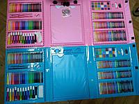 🌈Мега-набор для рисования в чемоданчике с мольбертом🖼