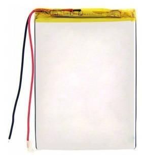 Внутренний универсальный аккумулятор 1100 mAh 3,7V (04*37*59) mm для планшетов, фото 2