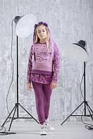 Zironka Костюм (джемпер, леггинсы) фиолетовый для девочки Z2-64-9002-1