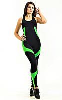 Комбинезон женский для фитнеса Totalfit F25-C6 черній с зеленым, фото 1