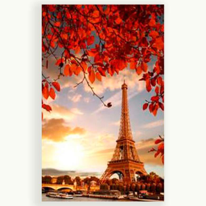 Картина раскраска по номерам на холсте 20*30см Josef Otten ОРР 20431JS_O Париж