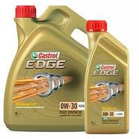 Моторное синтетическое масло Castrol (кастрол) EDGE 0W-30 A3/B4 Titanium 1л.