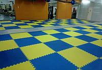 Модульное покрытие для залов единоборств, фитнес-клубов, секций йоги