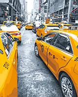 Картина по номерам 40x50 Желтое такси, Rainbow Art (GX25434), фото 1