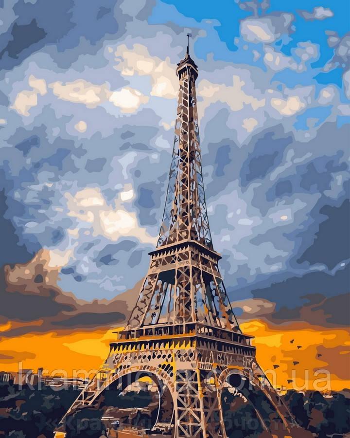 Картина по номерам 40x50 Облака над Парижем, Rainbow Art (GX29041)