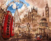 Картина по номерам 40x50 Лондонский круговорот, Rainbow Art (GX29946), фото 1