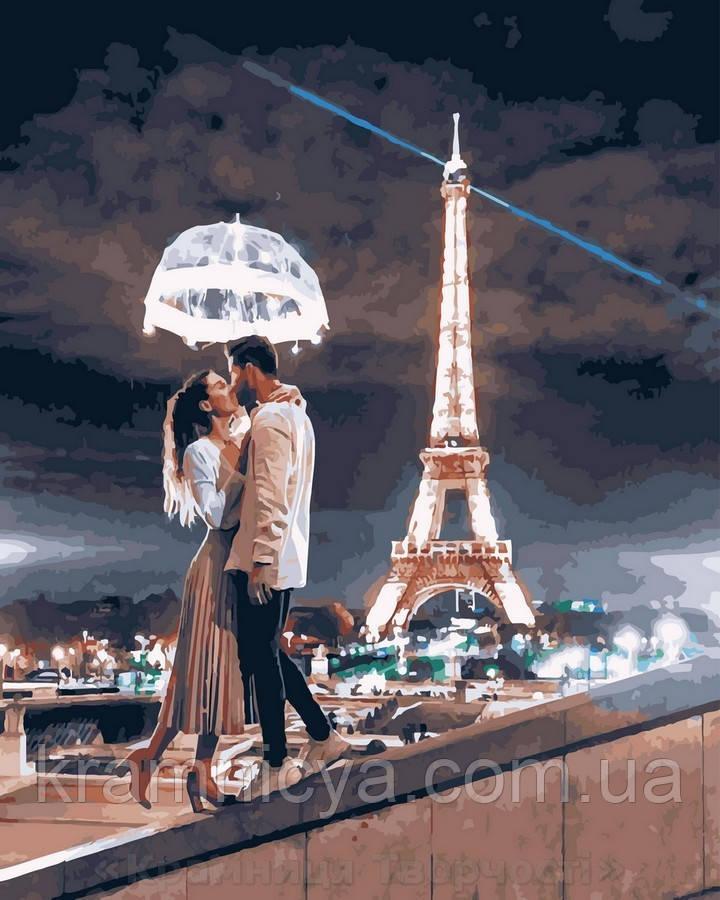 Картина по номерам 40x50 Однажды в Париже, Rainbow Art (GX30381)