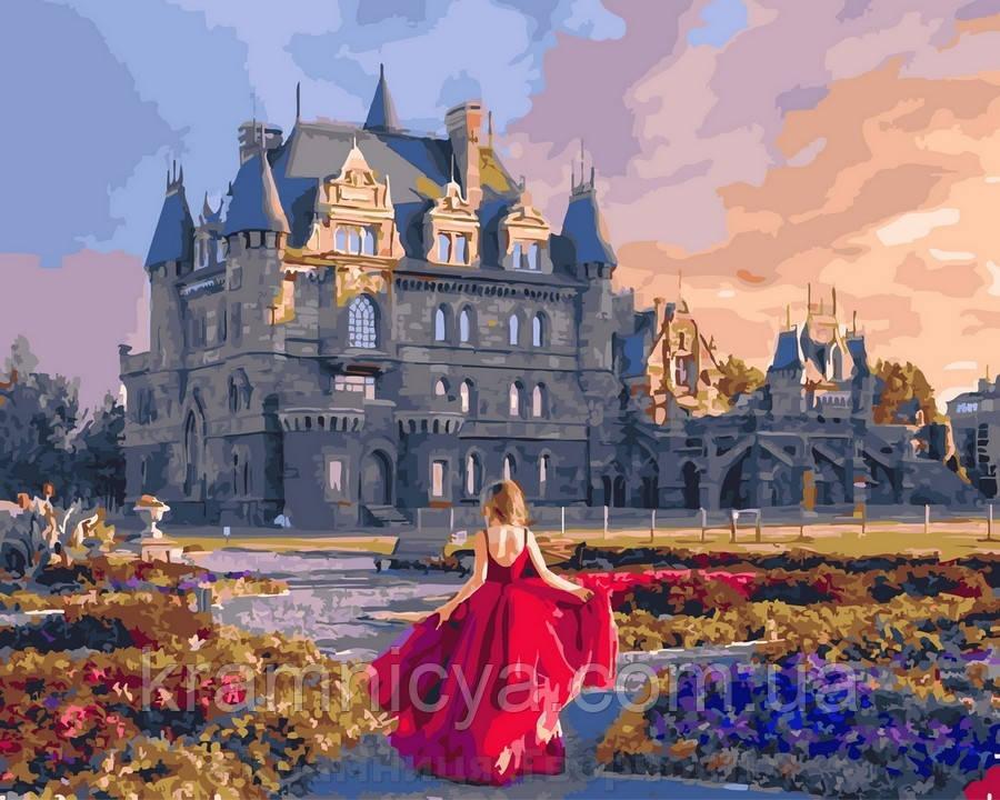 Картина по номерам 40x50 Английский замок, Rainbow Art (GX30422)