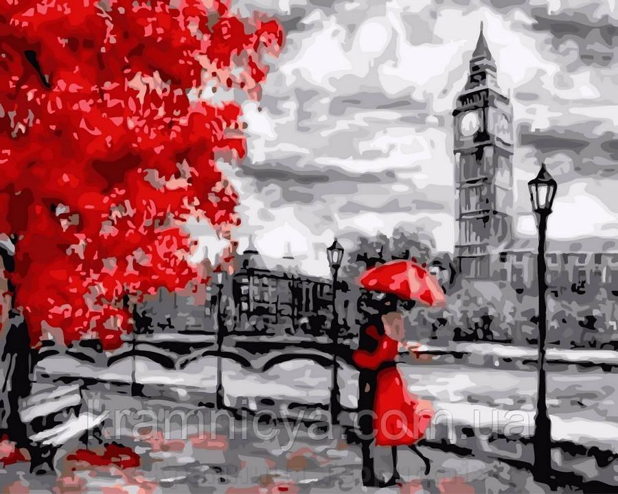 Картина по номерам 40x50 Осень в Лондоне, Rainbow Art (GX32168)