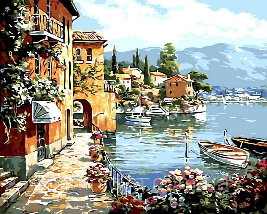 Картина по номерам 40x50 Живописный залив, Rainbow Art (GX32191)