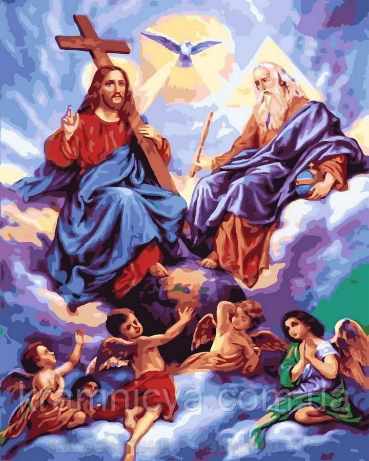 Картина по номерам 40x50 Небеса, Rainbow Art (GX32901)