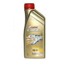 Моторное синтетическое масло CASTROL(Кастрол) EDGE 5W-40 Titanium 1л
