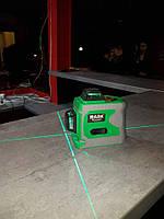БИРЮЗОВЫЙ ЛУЧ!!! Лазерный уровень Muli/HILDA 3D- ДО 50 МЕТРОВ, фото 1