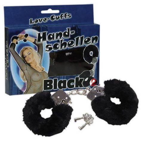 Наручники - HandschellenLove Cuffs Black, фото 2