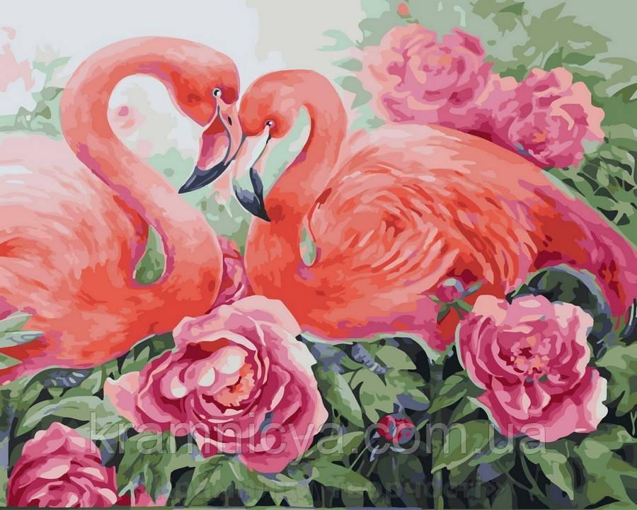 Картина по номерам 40x50 Розовая нежность, Rainbow Art (GX31635)