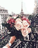 Картина по номерам 40x50 Розы в париже, Rainbow Art (GX32929), фото 1