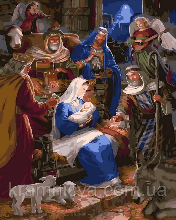 Картина по номерам 40x50 Рождество, Rainbow Art (GX32957)