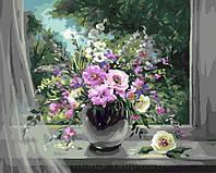 Картина по номерам 40x50 Окно в лето, Rainbow Art (GX8269), фото 1