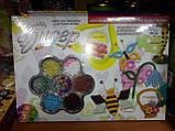 """Набор для плетения из бисера """"Пчелка"""" (6 схем), Б6-2, ТМ Danko Тoys, фото 6"""
