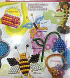 """Набор для плетения из бисера """"Пчелка"""" (6 схем), Б6-2, ТМ Danko Тoys, фото 2"""