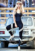 Комбинезон спортивный женский Totalfit F251-C21 черный
