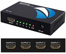 Усилитель Адаптер переменного тока HDMI SPLITTER (IN*1 OUT*4) 4K 3D