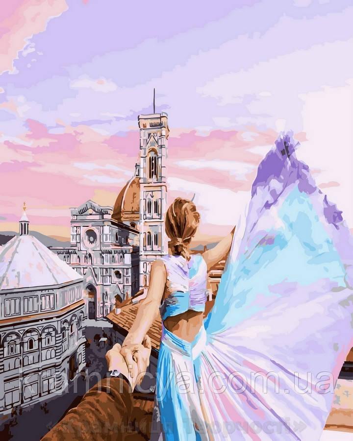 Картина по номерам 40x50 Следуй за мной.Флоренция, Rainbow Art (GX25420)