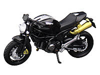 Модель мотоцикла Knight 1:18  Чорний