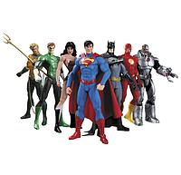 Набор фигурок SUNROZ Avengers 7 штук 14 см SUN1426, КОД: 121153