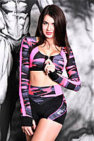 Спортивные шорт Черный с розовым