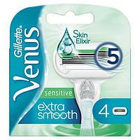 """Сменные кассеты Gillette Venus """"Extra Smooth Sensitive"""" (4шт.)"""