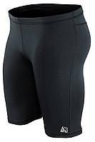 Спортивные компрессионные мужские шорты-тайтсы Rough Radical Raptor черные, фото 1