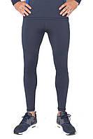 Мужские спортивные лосины тайтсы для бега Rough Radical Nexus темно-синий, фото 1