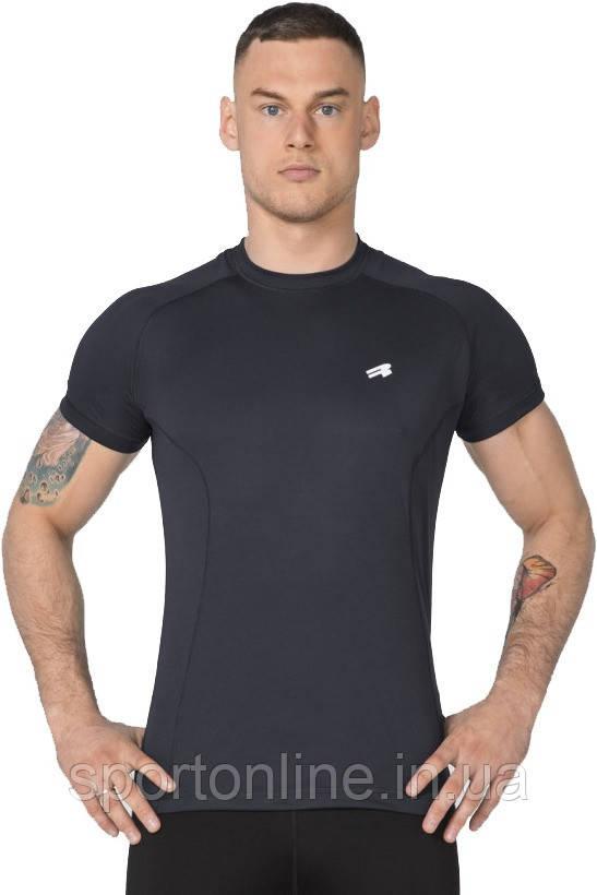 Спортивная мужская футболка Rough Radical Fury SS черная