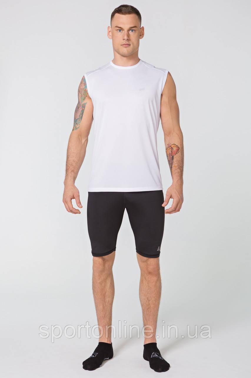 Мужская спортивная футболка без рукавов Rough Radical Tanker белая