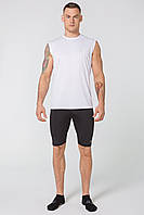 Мужская спортивная футболка без рукавов Rough Radical Tanker белая, фото 1