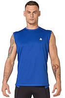 Мужская спортивная футболка без рукавов Rough Radical Tanker синяя, фото 1