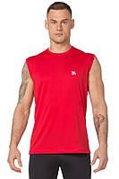 Мужская спортивная футболка без рукавов Rough Radical Tanker красная, фото 1