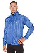 Ветровка-дождевик с капюшоном легкая мужская Rough Radical Flurry синяя